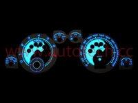 Automobiles Customer TG Style Digital EL Flash Gauge Auto Glow Gauge Car Meter