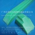 Venta al por mayor uhmw- de plástico del pe carril de guía lineal en gz de ingeniería