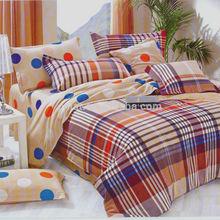 Reactive Design Dot & Plaid Print Seersucker Solution Dyed Fancy Bedroom Set