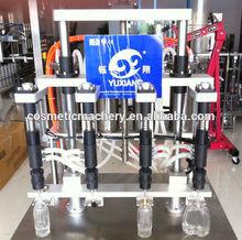YX PLC Automatic four heads automatic perfume/fragrance bottle vacuum filling machine