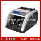 FJ-2815 mixed denomination counter intelligent cash bill machine