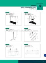 clothes garment display rack/ clothes shop equipment