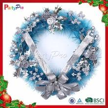 2015 Popular Wholesale Festival Items Christmas Wreath Decorations