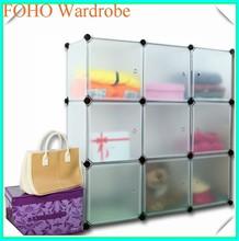 diy toy storage china supplier assembled wardrobe closet FH-AL0033-9