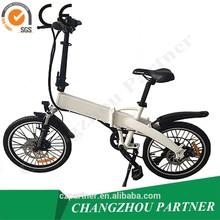 2014 new mini e-bike folding with pedal/folding electric bike/folding electric bicycle