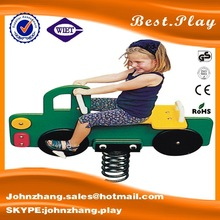 2015 school outdoor play equipment,children spring rider