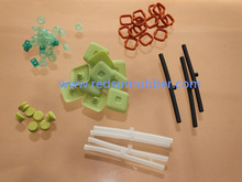 100% virgin FDA approved silicone rubber parts