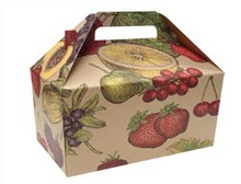 Type of nut dried dry fresh apple fruit packaging box