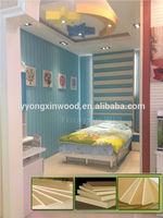 Promotional sale foam concrete wall panels, decorative plastic sheets, decorate green board