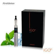 Cheap e cig igo6c 2200mah 18650 battery voltage ajustable types of electronic cigarettes