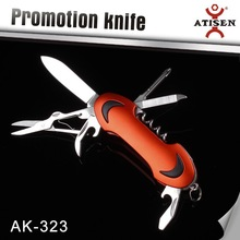 Outdoor Survival Tool1 7N1 Multifunction Camping Pocket Army Knife