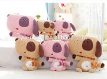 Delicate Stuffed dog toy cuddly dog toys , ODM & OEM baby soft plush dog toys