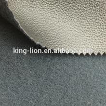 High grade faux leather semi pu leather for sofa