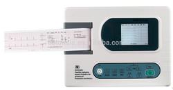 VET,PET ECG EKG Machine,3 channel,software,USB,printer,Digital, CE