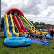 Raging Rapids Water Slide,Adult Inflatable Slide for summer party