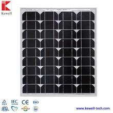 12V/ 80W Monocrystalline silicon cheap price per watt solar panel in china