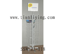 rotating wire brochure display stand