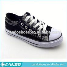 fashion buckle child canvas shoes