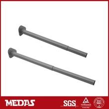 expand telescopic steel table leg height adjustable