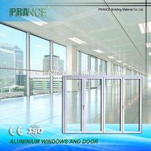 Multiple sizes functionality aluminum window door fabrication machine