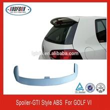REAR FIBER GLASS SPOILER FOR GOLF 6 GTI STYLE 2008-2012