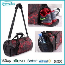 Man Sports Duffel Bags with Shoe Compartment