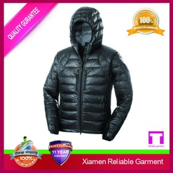 Custom motorcycle shiny down jacket from china