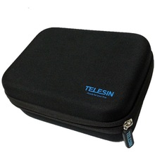 Professional go pro storage carrying bag with small size for go pro camera and accessories