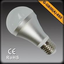 High Quality 3000K LED E27 120V 220V 5W 400LM EMC LVD RoHS LED Bulb