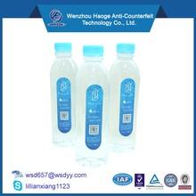 Personalized pvc shrink label,pvc shrink sleeve label,water bottle pvc label