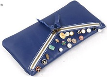 Alibaba Stock Price Leather Card Holder Magic Wallet