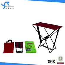 samll steel wire portable folding stool for pocket