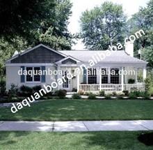 Popular Hotsales low cost turn-key small house plan/ prefab villas- EPS cement sandwich panel