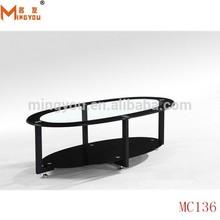 2015 moderno in vetro nero tavoli da biliardo usati in vendita