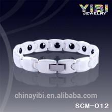 2014 Healthy Ceramic & Magnetic bracelet, ceramic jewelry