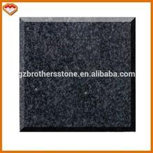China factory Brazil stone absolute black granite slab price