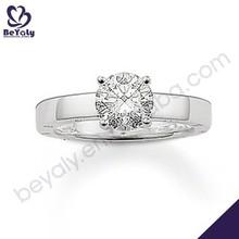 hot sale fashion desing ring jewelry 3 carat diamond ring price