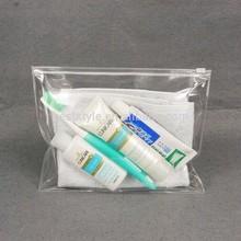 Waterproof plastic Small Wholesale Travel Mens Travel Cosmetic Bag