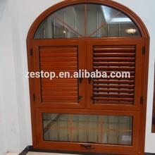 Adjustable aluminum window shutters /blinds/louvered windows