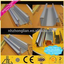 Wow!! Cocina perfil de aluminio mango/kitchen aluminium profile handle/nickle anodized brushed kitchen aluminium frame profile