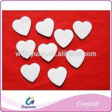 white Flame retardant paper confetti