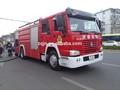 Howo 4x2 d'eau.& mousse de lutte contre l'incendie de camion à vendre