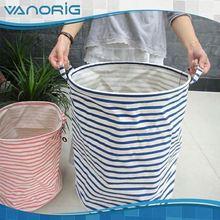 Good Quality Printed Foldable daily use custom washing net laundry basket