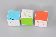 For distribution 2015 new product on china market mini square bluetooth speaker