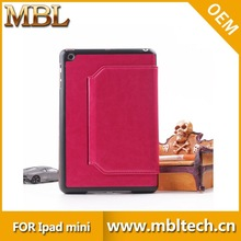 factory price and high quality pu leather case cover for ipad air 2