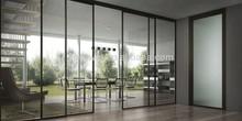 Mordern Design Hanging Aluminum Sliding Glass Door