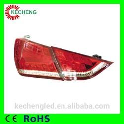 Plug and play !! FOB price ce&rohs car parts 12v Hyundai sonata 8 taillights