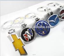 cheap whole car logo keychain/ car brand keyring wholesale