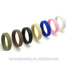 Non rubber Fashion Design Hot Sale Silicone wedding ring