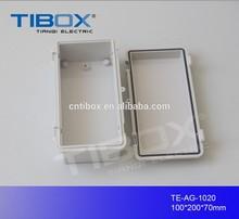 TIBOX hot sale high quality PVC Transparent switch box DVI switch box 100X200X70mm
